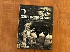 The Iron Giant by Ted Hughes 1968 1988 First 1st Edition Hc Dj Dirk Zimmer