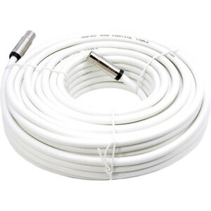 Smedz 5m TV Aerial Cable Extension Kit - Premium Fitted Compression IEC Male