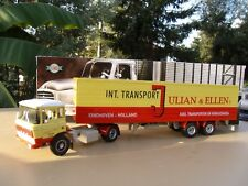 n° 40 DAF 2600 Camion Semi Remorque 1/43 Transports JULIAN & ELLEN EINDOVEN Neuf