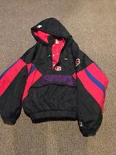 Vintage Montreal Canadiens Starter NHL Hockey Jacket Mens Size X-Large Red