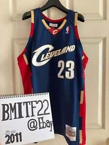 NWT LeBron James Cleveland Cavaliers Mitchell & Ness Swingman Jersey Men Large