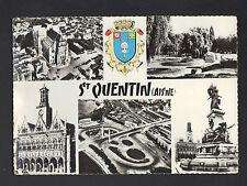 SAINT-QUENTIN (02) MONUMENTS & BLASON en 1961