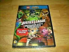 LEGO SUPER HEROES: JUSTICE LEAGUE & GOTHAM CITY BREAKOUT  DVD-2016-BRAND NEW