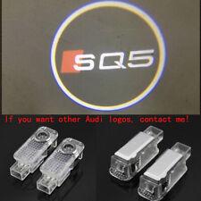 2X LED Door 3D Logo Courtesy Projector Ghost Laser Lights For Audi SQ5 2000-2019
