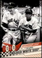 Chicago White Sox 2020 Topps Decade's Best Series 2 5x7 #DB-10 /49