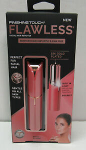 Finishing Touch Flawless Facial Hair Remover As Seen on TV Color Coral New