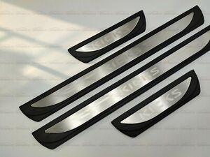 für Nissan Kicks Zubehör Schutz Beschützer Edelstahl Einstiegsleisten Türrahmen