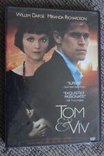 TOM & VIV RARE DELETED DVD ROMANCE DRAMA FILM WILLEM DAFOE & MIRANDA RICHARDSON