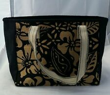 Designer Ladies Handbag Natural JUTE Shopping Shoulder Bag Holiday Tote Beach .