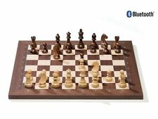 DGT BLUETOOTH Rosewood eBoard+TIMELESS WEIGHTED pieces-Electronic chess-sensory