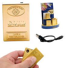 USB Accendino CHAMP Spirale incandescente LINGOTTI D'ORO Accendisigari