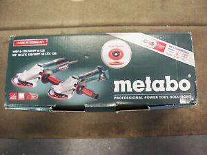 Metabo WEPF 9-125 Flat Head Angle Grinder   New