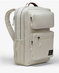 Nike Air Max Utility Speed Training Backpack Light Bone Orewood CK2668 104 NEW