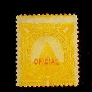 HONDURAS Perf Error Stamp SC O7 1P  Unused LH Small Tear Y8/65