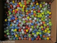 MARBLE BULK LOT 2 POUNDS FOR KIDS BARGAIN PRICE FREE SHIPPING 5/8 INCH MARBLES