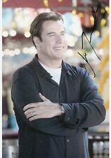 JOHN TRAVOLTA Signed 12x8 Photo PULP FICTION & GREASE COA