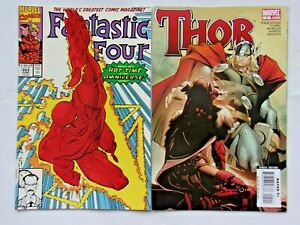 Fantastic Four #353 & Thor #5,1st Appearance Mobius & Female Loki,Time Variance