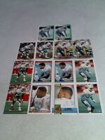 *****J.B. Brown*****  Lot of 44 cards.....15 DIFFERENT / Football