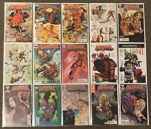 30 Deadpool #1,1,2,2,3,3,4,14,17,18,18,19,20,21,22,23,24,25,29,29,29,30,30-35,1
