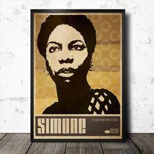 Nina Simone  Art Poster #2 Music Jazz Billie Holiday Etta James Ella Fitzgerald