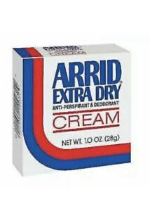 (1) ARRID Extra Dry Anti-Perspirant Deodorant Cream 1.0 Oz Creamy Perfect