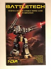 RFL-3N Rifleman Battletech Science Fiction Combat Book Game, Collector's Grade