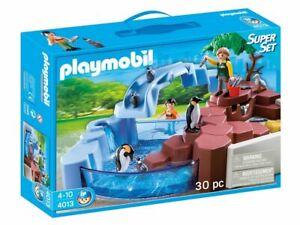 Playmobil® 4013 Pinguinbecken Superset Tiere Zoo Pinguine Neu u. OVP