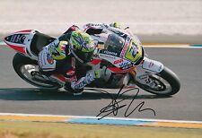Toni Elias mano firmado LCR Honda 12x8 Foto MotoGP 5.