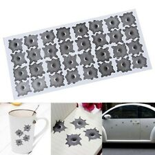 Simulation bullet hole Orifice stickers Graphic Decal Car Auto body Helmet Decor