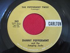 OLDIES 45 - DANNY PEPPERMINT & THE JUMPING JACKS - PEPPERMINT TWIST- CARLTON 565