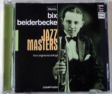 BIX BEIDERBECKE / JAZZ MASTERS FROM ORIGINAL RECORDINGS / EMI JAZZ / CDMFP 6297