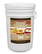 Chef's Banquet ARK 330 Servings 1 Month Food Kit, Emergency Camping Survival