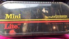 Vintage Old Pal Woodstream Mini Lite 380 Tackle Box