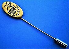 H221*) Vintage Zwarte Kat Kaffie Coffee Cat Kitten lover tie lapel pin badge