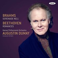 [NEW] CD: AUGUSTIN DUMAY: BRAHMS/BEETHOVEN