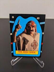 1985 Topps WWF Iron Sheik Sticker #5