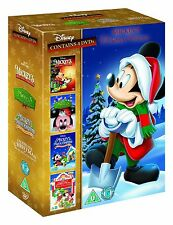 Mickey's Christmas Collection DVD Disney Kids Movie Gift Set Christmas Gift
