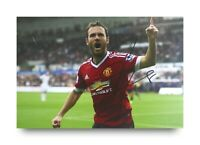 Juan Mata Signed 6x4 Photo Manchester United Genuine Autograph Memorabilia + COA