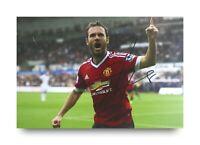 Juan Mata Signed 6x4 Photo Manchester United Genuine Autograph Memorabilia + COA