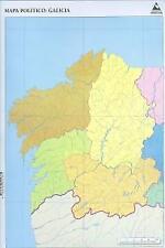 MPaq/50 mapas galicia politico mudos. ENVÍO URGENTE (ESPAÑA)