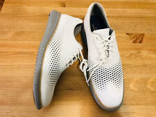Cole Haan 2.ZeroGrand Wing tip laser nubuck oxford shoes C30508 NWOB size 13