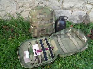 New PLCE & MOLLE MTP Patrol Team Medic IFAK Trauma Pack Side Pouch Empty