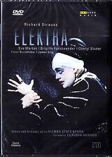 DVD: STRAUSS: ELEKTRA Marton Fassbaender Studer ABBADO Eva Brigitte Grundheber