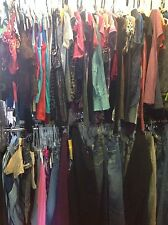 100 PC lot womens brand name clothing tops pants skirts shirts wholesale