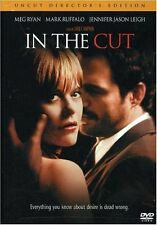 NEW HORROR DVD // IN THE CUT // Meg Ryan, Mark Ruffalo, Jennifer Jason Leigh,