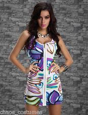 Funky Naughty Night Club Fashion DESIGNER Cocktail Dress 6 8 10