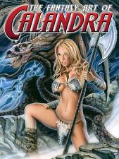 The Fantasy Art of Calandra SQP Art Book- Hand Signed!