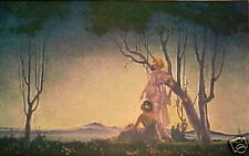 "Beautiful Deco ""Women at Twilight"" by Villa"