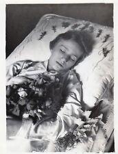 Antique Post Mortem Photo 230 Bizarre Odd Strange