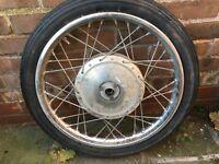 "Suzuki Yamaha Honda Kawasaki Used Front Wheel DID 18"" Rim"